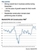 Slowest rise in UK construction output since July 2013